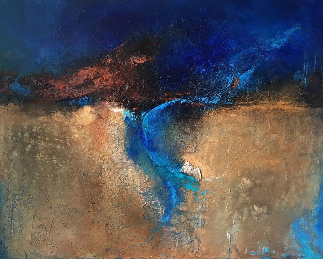 Afrika Nil 100x120 2012