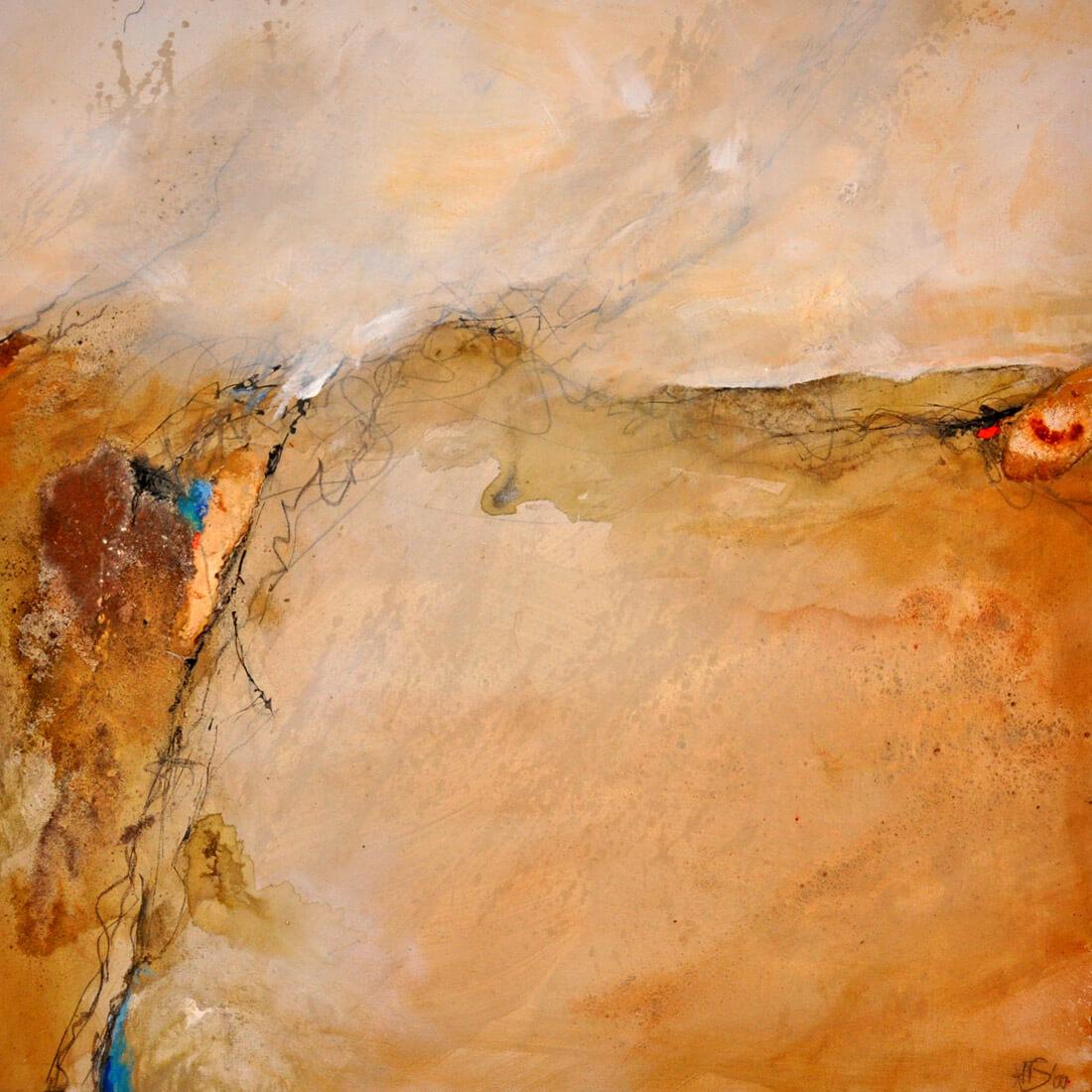 Afrika Wüste 80x80 2010