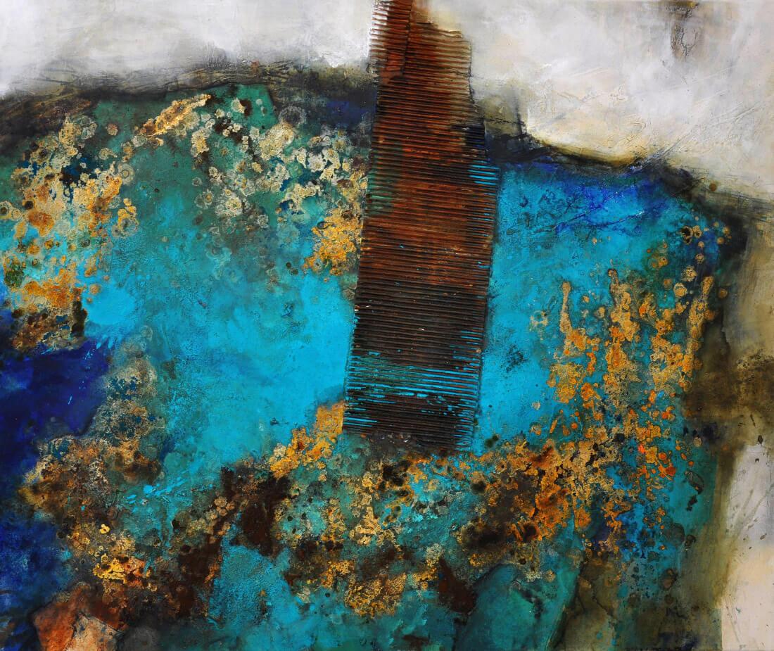 Riff Eintauchen 100x120 2010