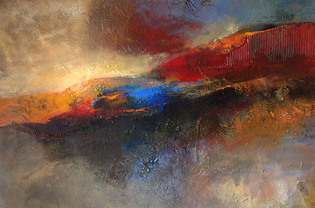 Wüstenfarben 80x120 2012